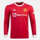 Manchester United Hemmatröja 2021/22 Långärmad