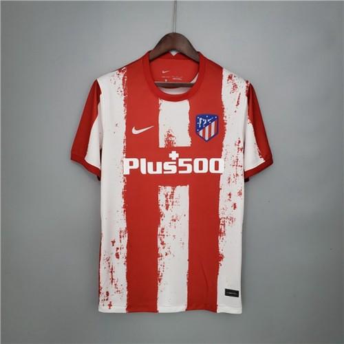 Atletico Madrid Hemmatröja 2021/22 Kortärmad