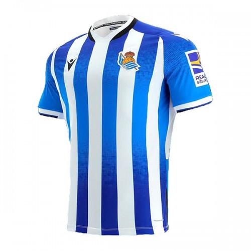 Real Sociedad Hemmatröja 2021/22 Kortärmad