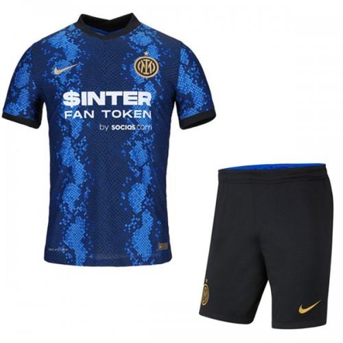 Inter Milan Hemmatröja Barn 2021/22 Kortärmad