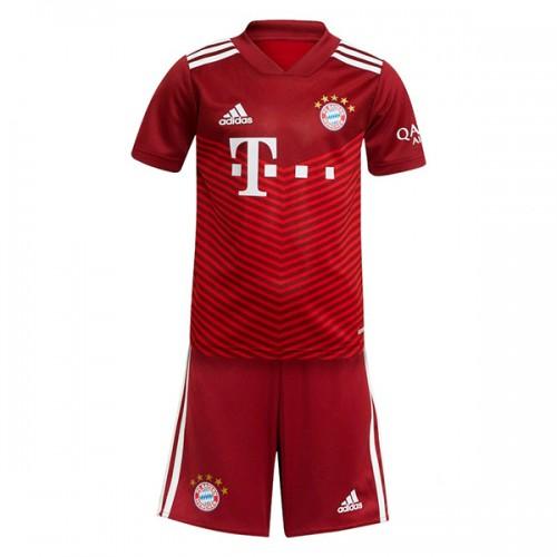 Bayern Munchen Hemmatröja Barn 2021/22 Kortärmad
