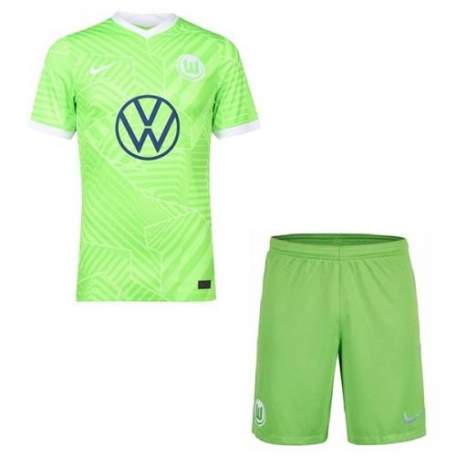 Wolfsburg Hemmatröja Barn 2021/22 Kortärmad