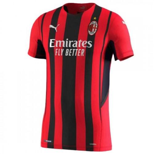 AC Milan Hemmatröja 2021/22 Kortärmad