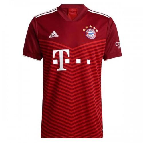 Bayern Munchen Hemmatröja 2021/22 Kortärmad