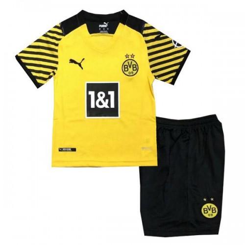 Borussia Dortmund Hemmatröja Barn 2021/22 Kortärmad