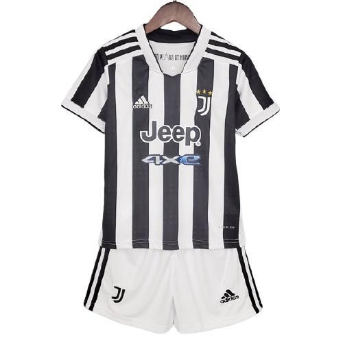 Juventus Hemmatröja Barn 2021/22 Kortärmad