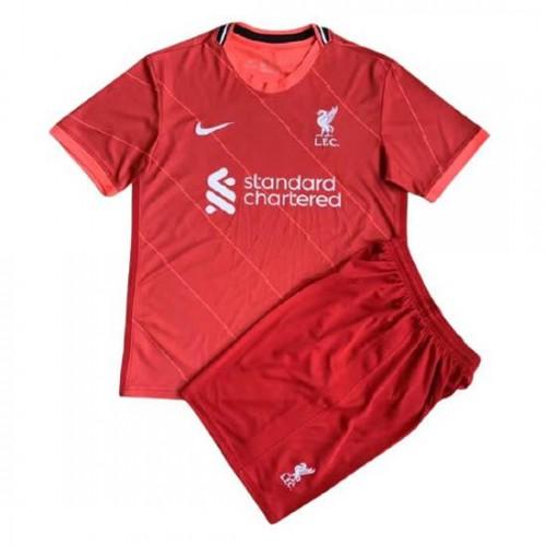 Liverpool Hemmatröja Barn 2021/22 Kortärmad