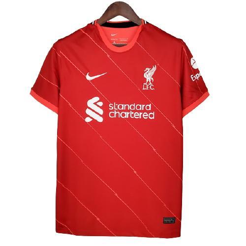 Liverpool Hemmatröja 2021/22 Kortärmad