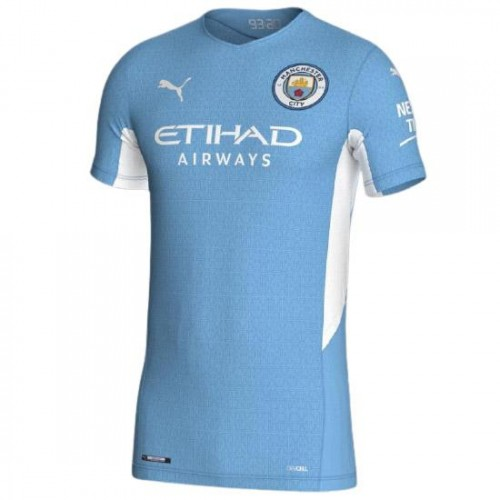 Manchester City Hemmatröja 2021/22 Kortärmad