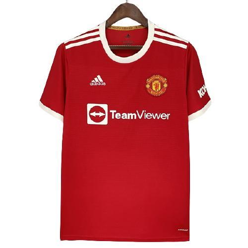 Manchester United Hemmatröja 2021/22 Kortärmad