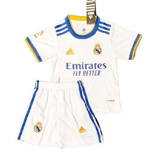 Real Madrid Hemmatröja Barn 2021/22 Kortärmad
