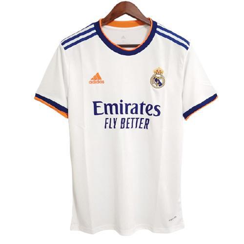 Real Madrid Hemmatröja 2021/22 Kortärmad